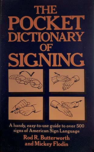 9780399513473: Pocket Dictionary of Signing