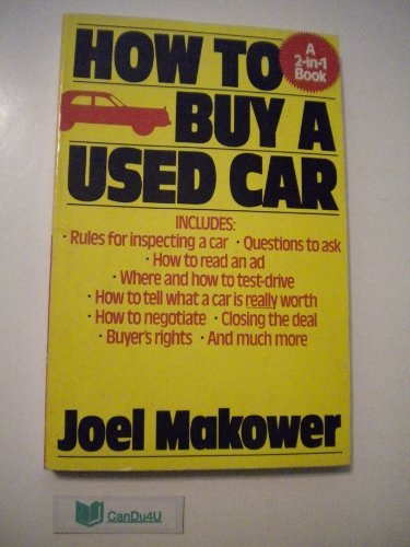 9780399514432: How to Buy a Used Car/How to Sell a Used Car