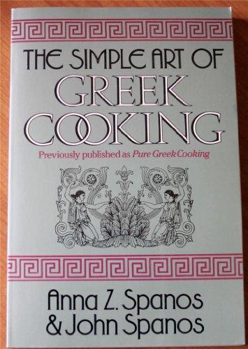 9780399516184: The Simple Art of Greek Cooking