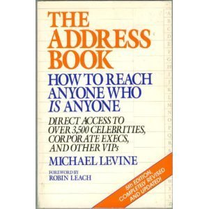9780399516214: Address Book 5th Pa (Address Book: How to Reach Anyone Who Is Anyone)