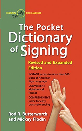 9780399517433: The Pocket Dictionary Of Signing
