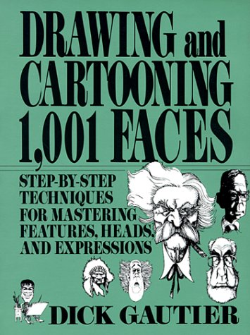 9780399517679: Drawing and Cartooning 1,001 Faces