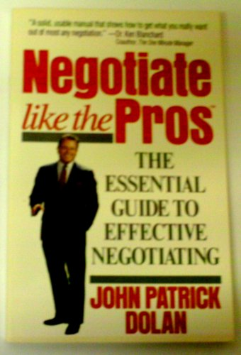 9780399517754: Negotiate Like the Pros