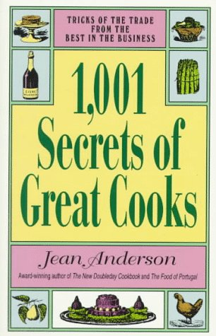 1,001 Secrets of Great Cooks: Anderson, Jean
