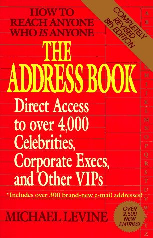 9780399522741: The Address Book: Eighth Edition (8th Edition)
