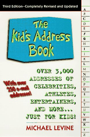 The Kid's Address Book (3rd Edition): Levine, Michael