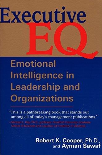 Executive E. Q.: Cooper, Robert; Sawaf, Ayman