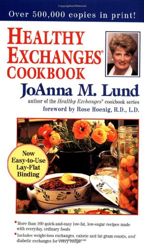 Healthy Exchanges Cookbook (0399525548) by Lund, JoAnna M.