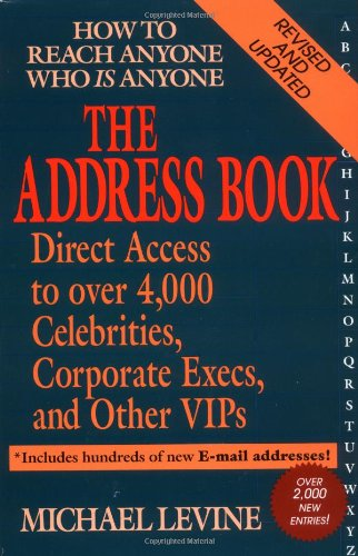 9780399526671: The Address Book: How to Reach anyone who is anyone