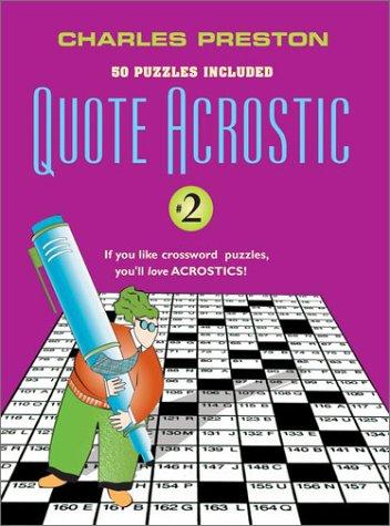 9780399526893: Quote Acrostic 2