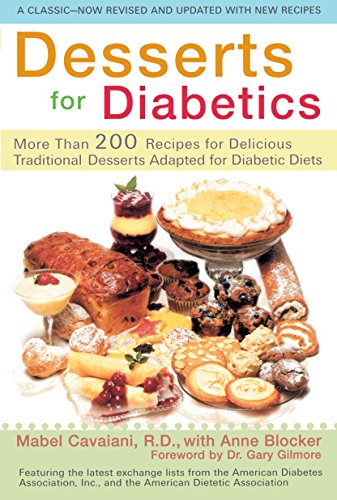 9780399528170: Desserts for Diabetics: 200 Recipes for Delicious Traditional Desserts Adapted for Diabetic Diets, Revised and Updated