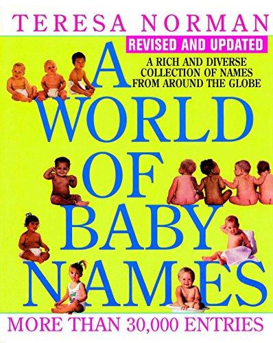 A World of Baby Names: Norman, Teresa