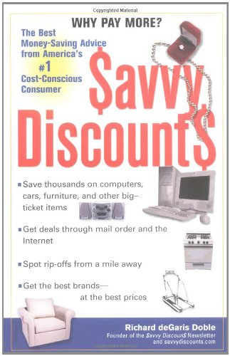 9780399529238: Savvy Discounts: The Best Money-Saving Advice from America's #1 Cost-Conscious Consumer