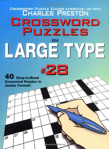 9780399529559: Crossword Puzzles in Large Type #28