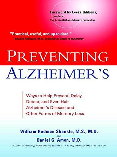 Preventing Alzheimer's: Ways to Help Prevent, Delay,: William Rodman Shankle,