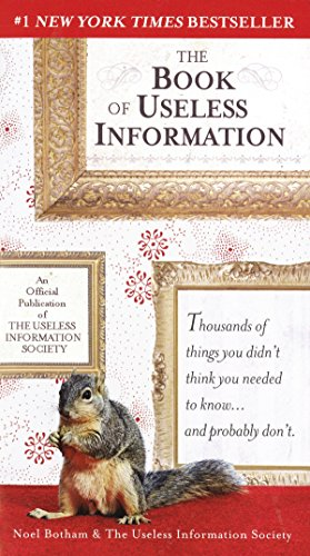 9780399532696: The Book of Useless Information