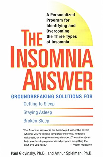 9780399532979: The Insomnia Answer: A Personalized Program for Identifying and Overcoming the Three Types ofInsomnia