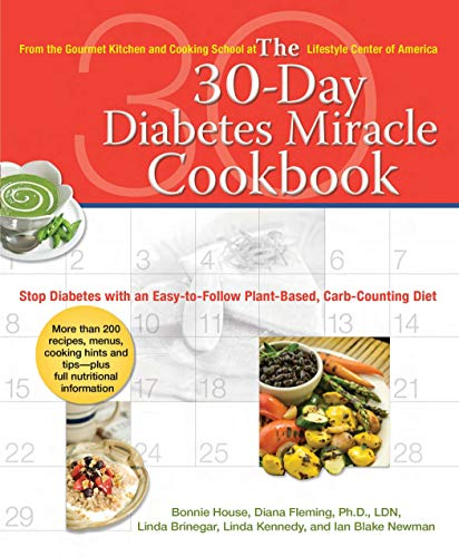 9780399534218: 30 Day Diabetes Miracle Cookbook: Stop Diabetes with an Easy-to-Follow Plant-Based, Carb-Counting Diet