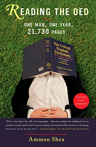9780399535055: Reading the OED: One Man, One Year, 21,730 Pages