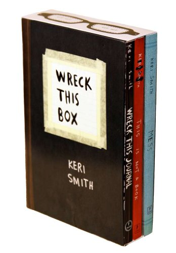 9780399536557: Keri Smith Boxed Set: Wreck This Journal, This Is Not a Book, Mess