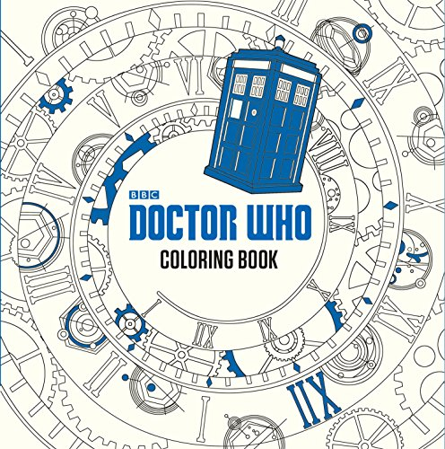 9780399542299: Doctor Who Coloring Book