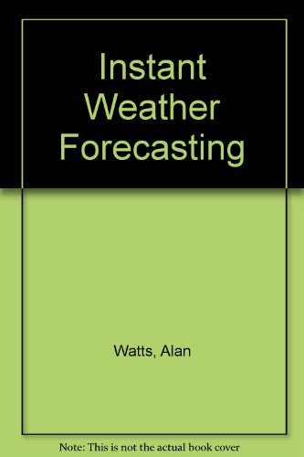 9780399550065: Instant Weather Forecasting