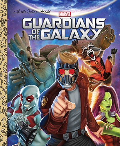 9780399550966: GUARDIANS OF GALAXY LITTLE GOLDEN BOOK (Little Golden Books)