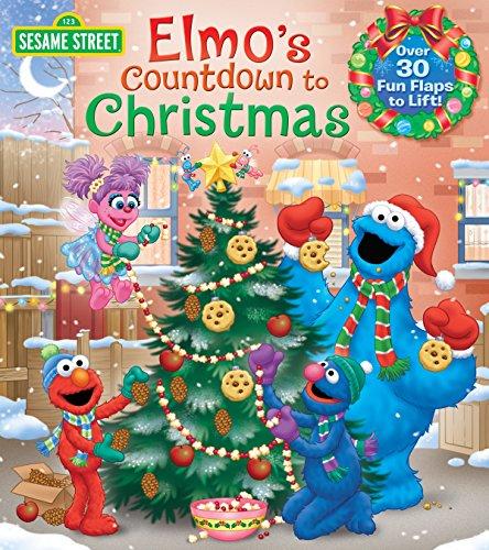 9780399552137: Elmo's Countdown to Christmas (Sesame Street) (Lift-The-Flap)