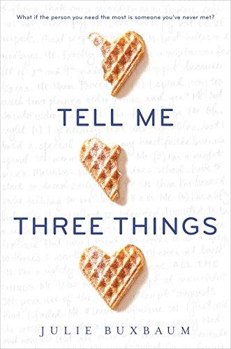 9780399552939: Tell Me Three Things