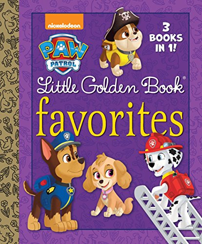 9780399553585: Paw Patrol Little Golden Book Favorites