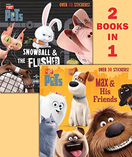 9780399554865: Max & His Friends/Snowball & the Flushed Pets (Secret Life of Pets) (Pictureback(R))