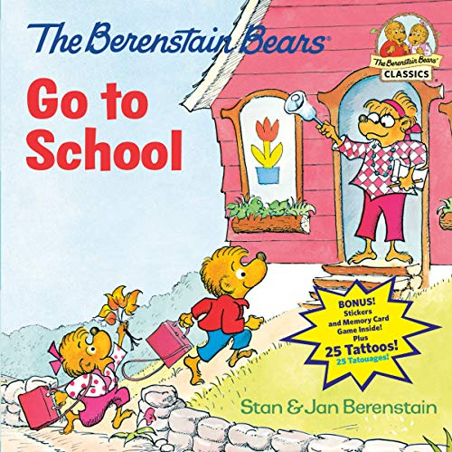 9780399555893: The Berenstain Bears Go to School (First Time Books)