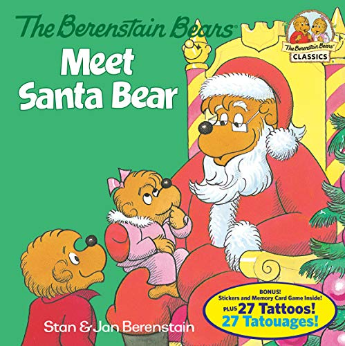 9780399557675: The Berenstain Bears Meet Santa Bear (Deluxe Edition) (First Time Books(R))