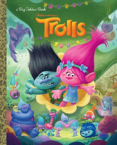 Trolls Big Golden Book (DreamWorks Trolls): Golden Books