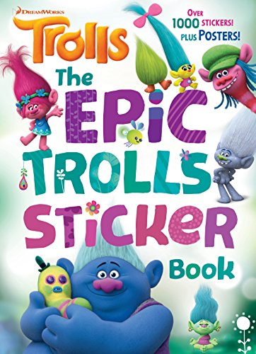 Epic Trolls Sticker Book (Dreamworks Trolls), The
