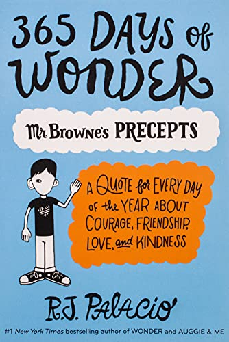 9780399559181: 365 Days of Wonder: Mr. Browne's of Precepts
