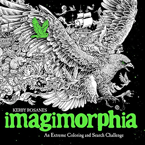 9780399574122: Imagimorphia: An Extreme Coloring and Search Challenge