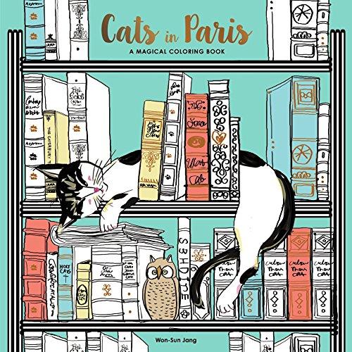 9780399578274: Cats in Paris: A Magical Coloring Book