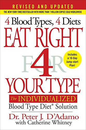 9780399584169: Eat Right 4 Your Type (Revised and Updated): The Individualized Blood Type Diet® Solution
