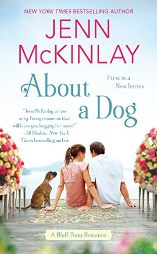 "About a Dog 9780399584718 Fall in love with a little help from man's best friend in New York Times bestselling author Jenn McKinlay's contemporary romance debut. Mackenzie ""Mac"" Harris fled her hometown of Bluff Point, Maine, after being left at the altar—and seeking solace in the arms of her best friend's off-limits brother. Now, seven years later, she's back to attend her best friend's wedding—safe, or so she thinks, from the mistakes of her youth. But Gavin Tolliver has never forgotten the woman who has always held his heart. And when Mac rescues a stray puppy named Tulip, only Gavin, the town's veterinarian, can help. With a little assistance from Tulip, Gavin vows to make Mac realize that their feelings are more than just puppy love..."