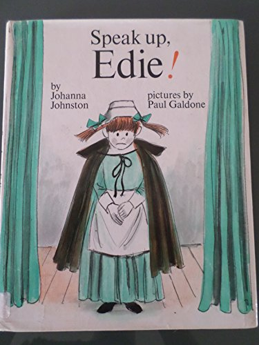 9780399608643: Speak Up, Edie!