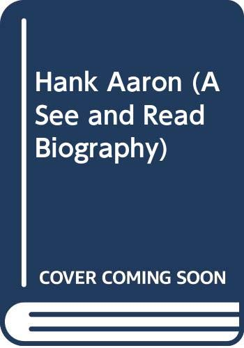 9780399609046: Hank Aaron (A See and Read Biography)