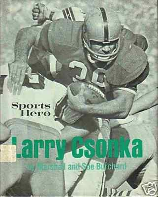 Sports Hero : Larry Csonka: Sue Burchard; Marshall