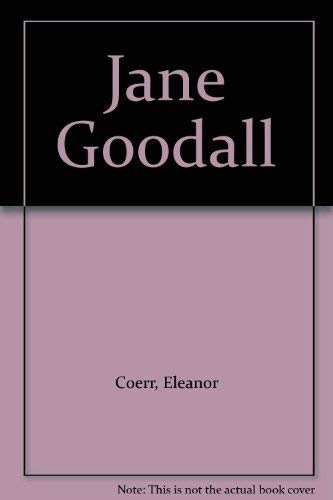 9780399609947: Jane Goodall