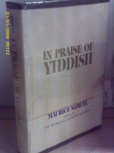 In Praise of Yiddish: SAMUEL, MAURICE