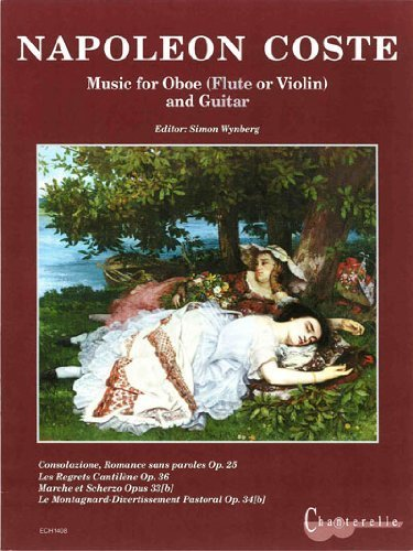 9780402614081: Napoleon Coste: Music for Oboe and Guitar (Flute or Violin)