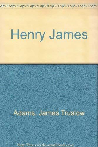 9780403004911: Henry James