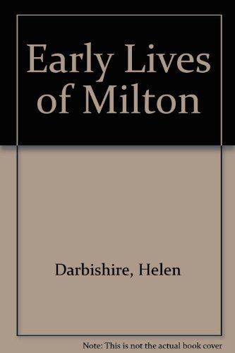 9780403009350: Early Lives of Milton