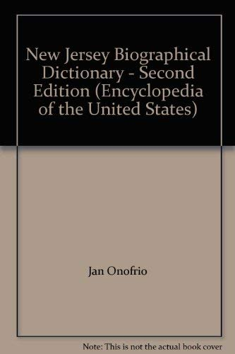 New Jersey Biographical Dictionary - Second Edition: Jan Onofrio