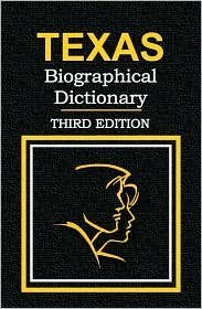 Texas Biographical Dictionary - Third Edition: Jan Onofrio
